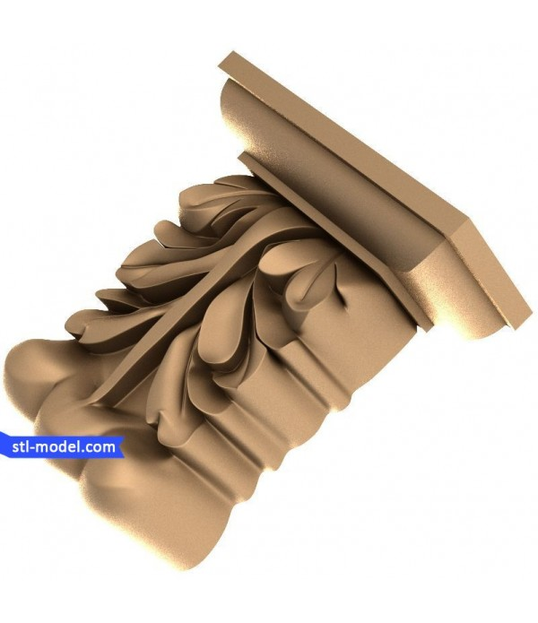 "Corbel ""Corbel #6"" | STL - 3D model for CNC"