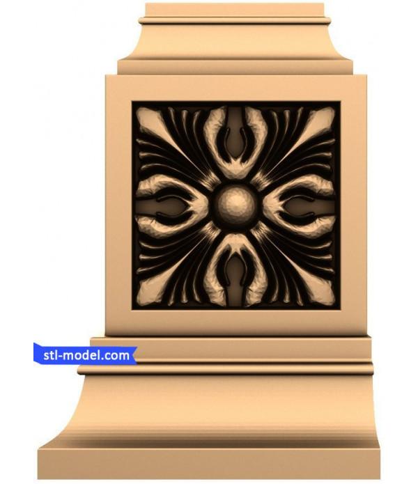"Decor ""decor #64""   STL - 3D model for CNC"