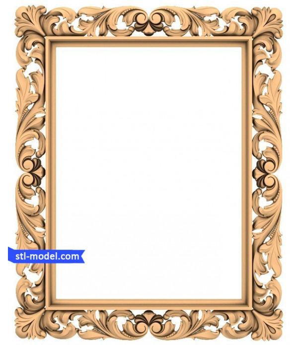 "Frame ""Frame #56"" | STL - 3D model for CNC"