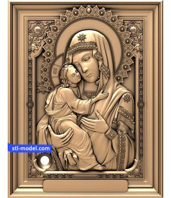 "Icon ""mother of God #7"" 