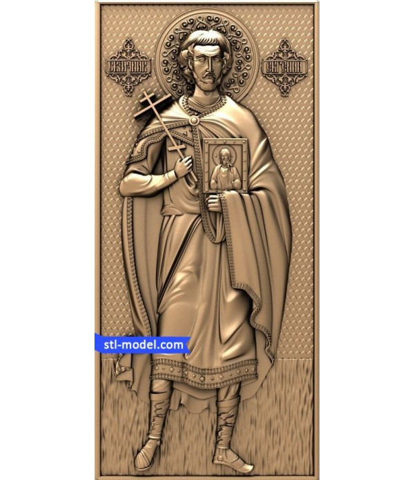 "Icon ""St. Eugene"" 