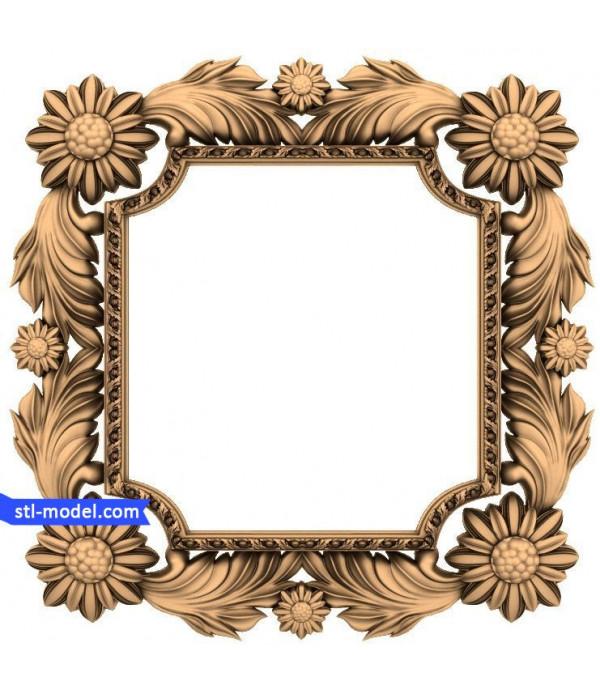 "Frame ""Frame #119"" | STL - 3D model for CNC"