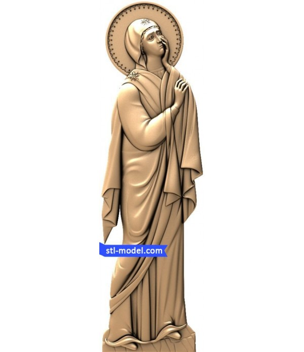 "Icon ""mother of God at the crucifixion"" 