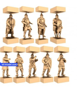 "Chess set ""Russian"" 