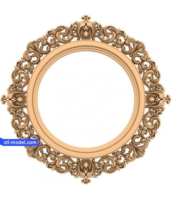 "Frame ""Frame #167"" | STL - 3D model for CNC"