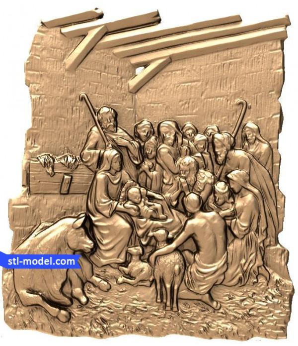 "Bas-relief ""Bas-relief #24"" | STL - 3D model for CNC"