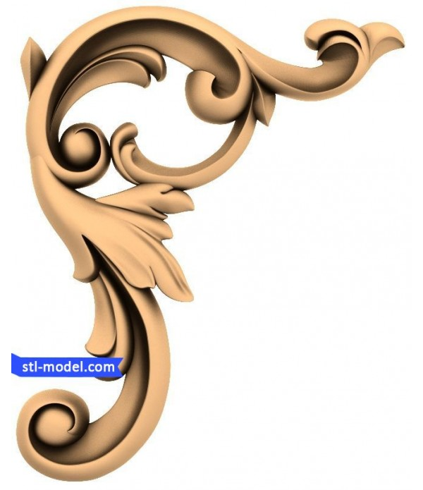"Corner decor ""Corner decor #11"" 