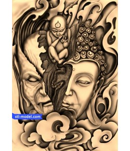 Buddha and the Demon