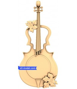 "Watch ""Violin"" | STL - 3D mode..."