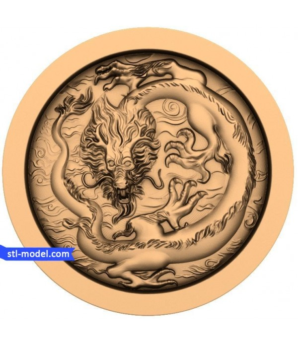 "Character ""Chinese dragon"" 