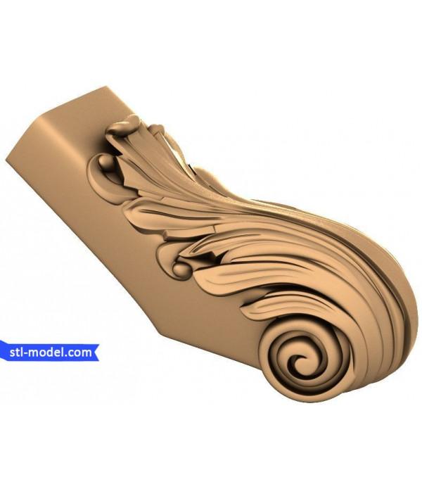"Decor ""decor #43"" | STL - 3D model for CNC"