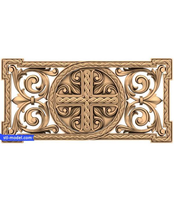 "Decor ""decor #56"" | STL - 3D model for CNC"