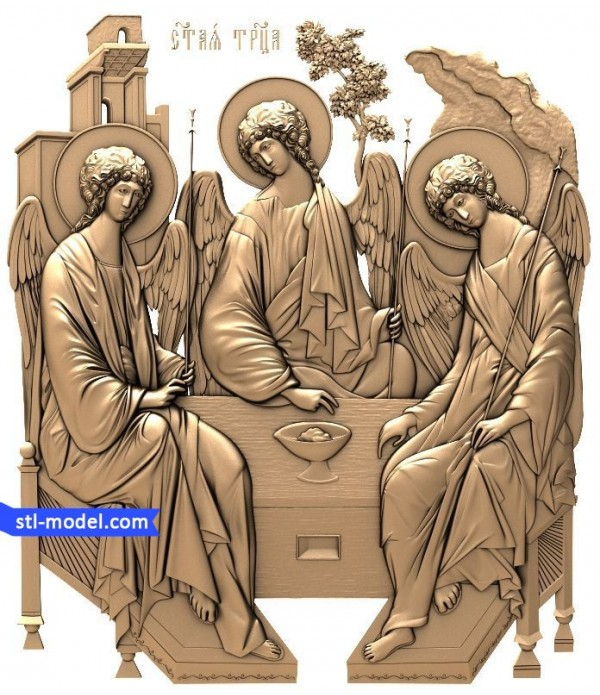 """Icon """"Holy Trinity #1"""" 