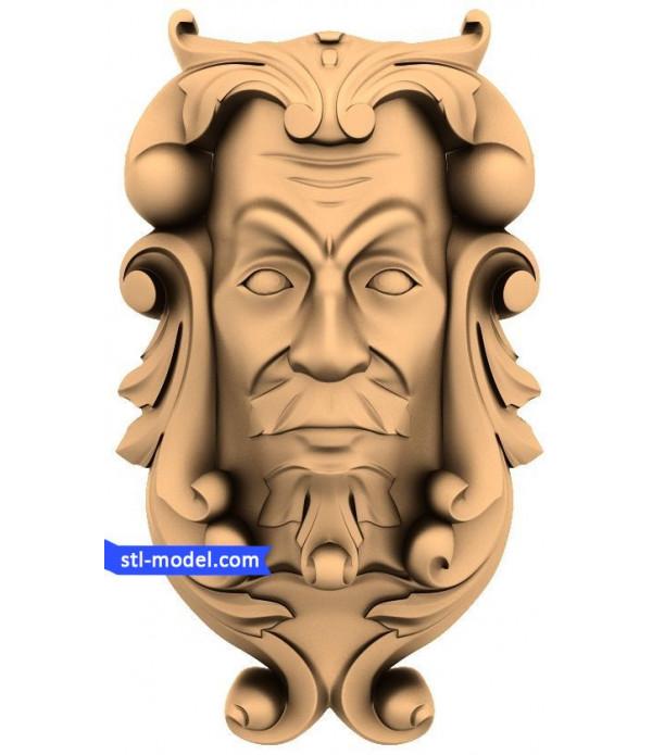 "Characters ""Clown"" | STL - 3D model for CNC"