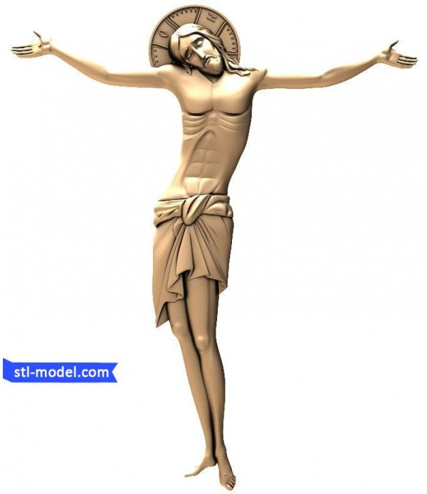 """Icon """"Crucifixion #4"""" 