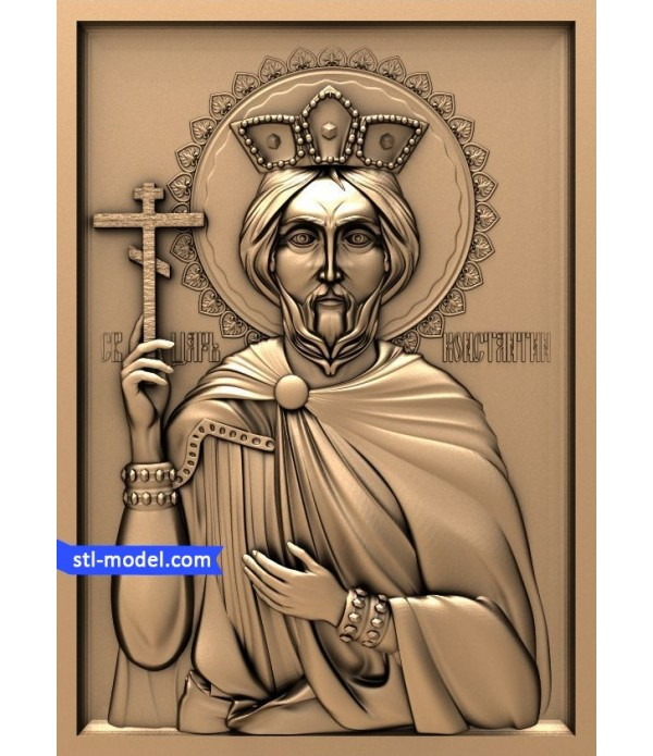 "Icon ""St. Constantine"" 