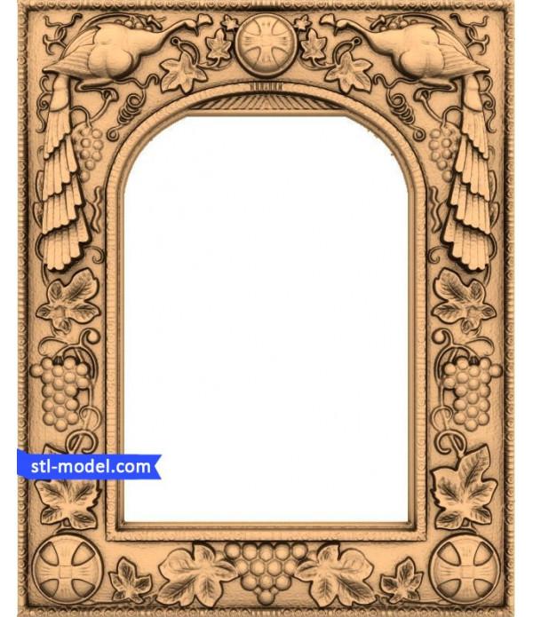 "Frame ""Frame #11"" | STL - 3D model for CNC"