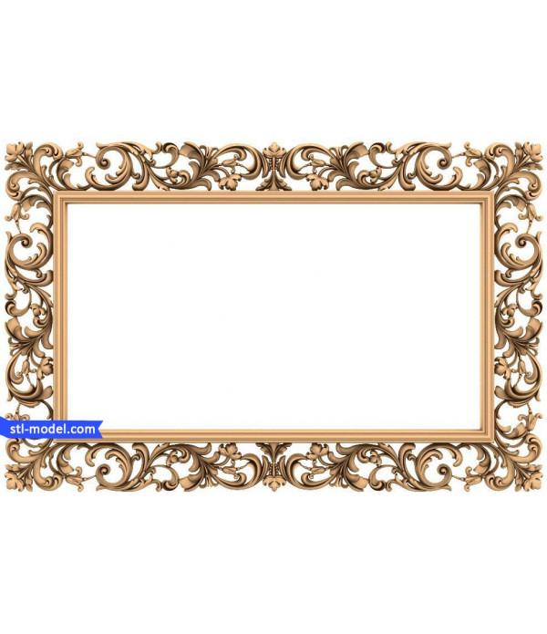 "Frame ""Frame #170""   STL - 3D model for CNC"