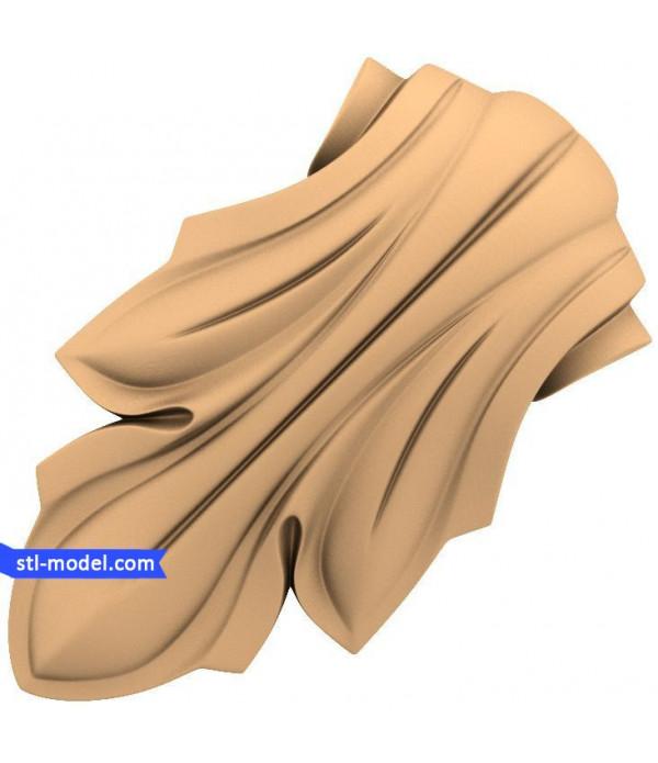 "Corbel ""Corbel #30"" | STL - 3D model for CNC"