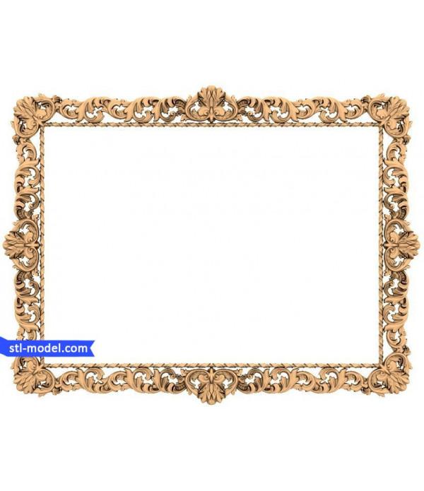 "Frame ""Frame #41"" | STL - 3D model for CNC"