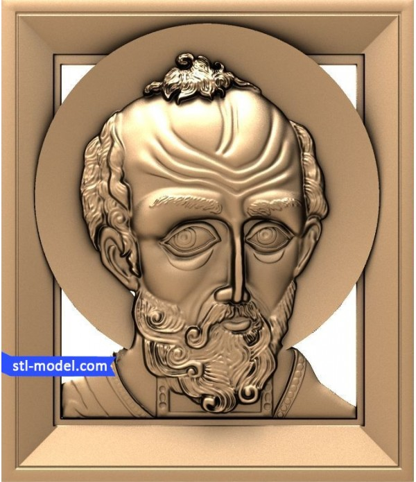"Icon ""Nicholas the miracle worker #8"" 