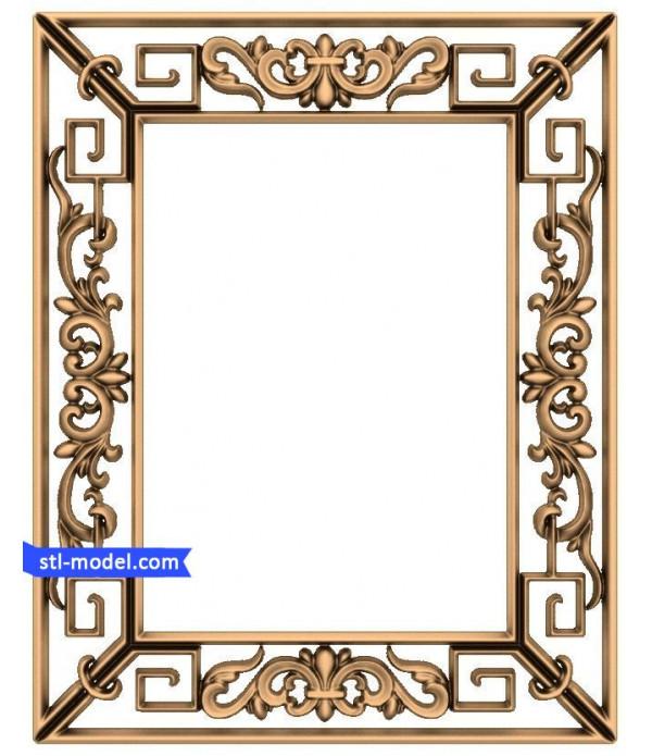 "Frame ""Frame #112"" | STL - 3D model for CNC"