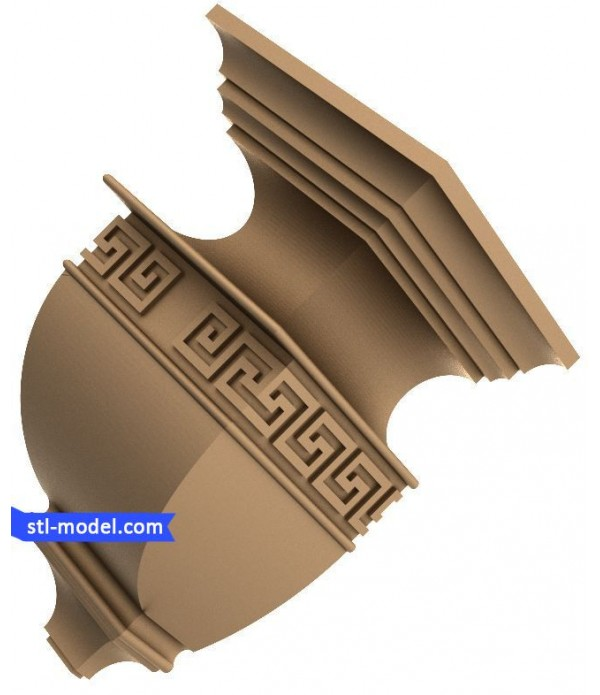 "Corbel ""Corbel #59"" | STL - 3D model for CNC"