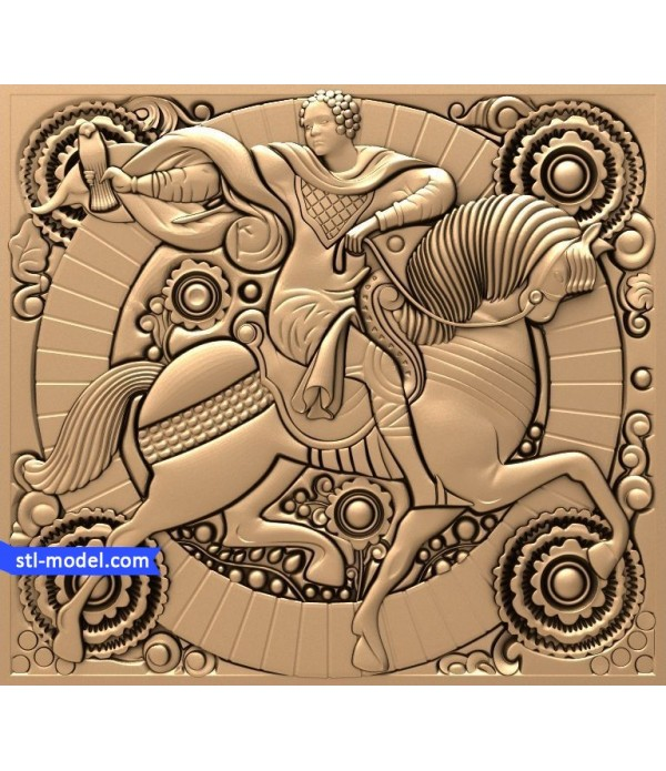 "Bas-relief ""fairy Tale #2"" 