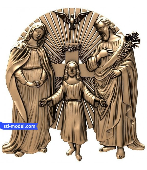 "Icon ""Holy family"" 