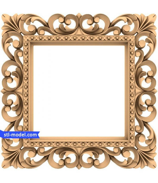 "Frame ""Frame #173"" | STL - 3D model for CNC"