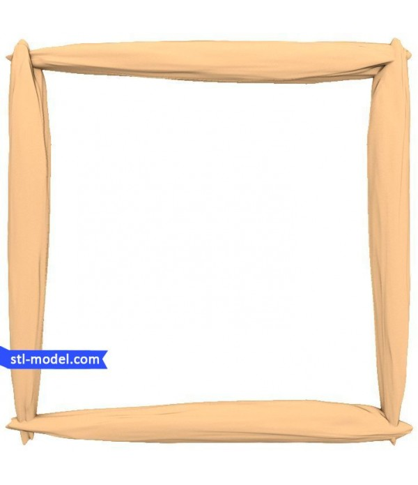 "Frame ""Frame #103"" | STL - 3D model for CNC"