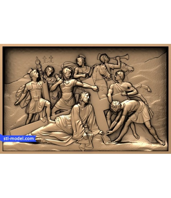 "Icon ""Christ carrying the cross"" 