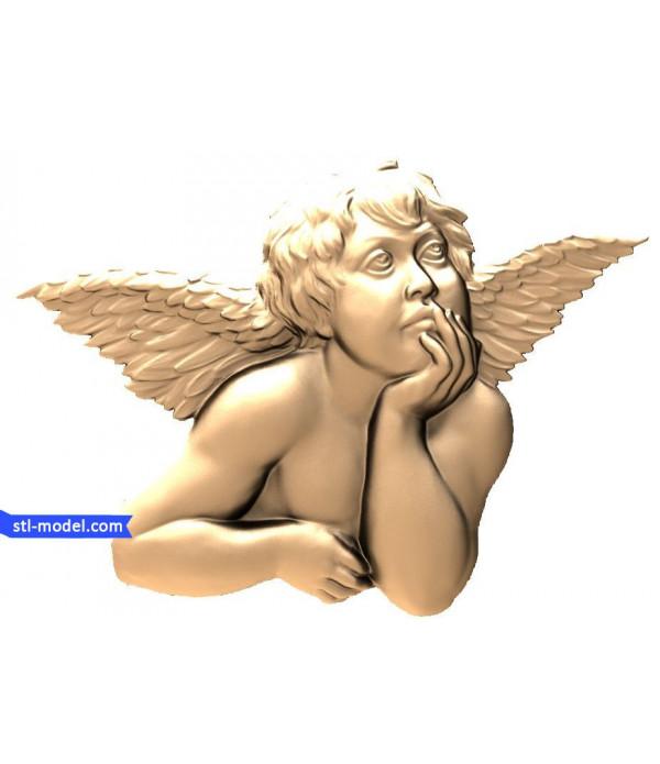 "Angel ""Angel #4"" | STL - 3D model for CNC"