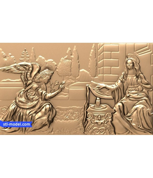 "Bas-relief ""Bas-relief #40"" 