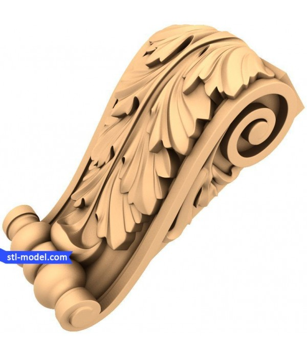 "Corbel ""Corbel #98"" | STL - 3D model for CNC"