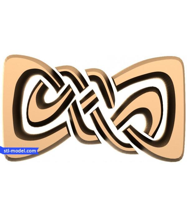 "Decor ""decor #154""   STL - 3D model for CNC"