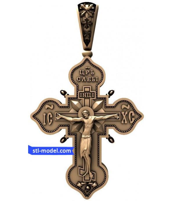 "Cross ""Crucifixion #6"" | STL - 3D model for CNC"