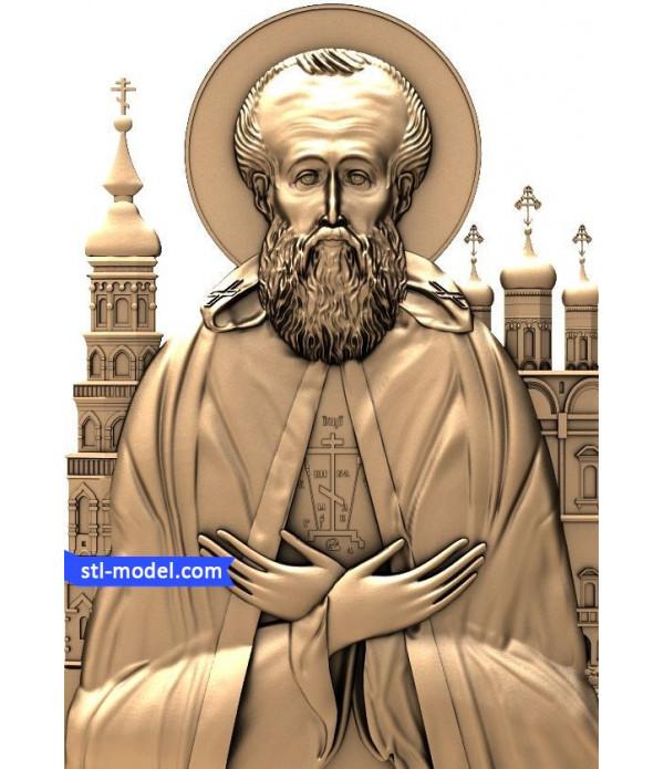 "Icon ""Joseph Volotsky #1"" | STL - 3D model for CNC"