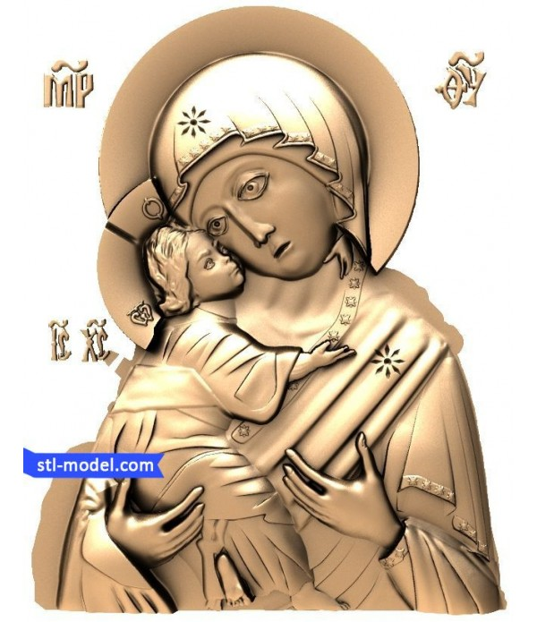 "Icon ""mother of God #5"" 