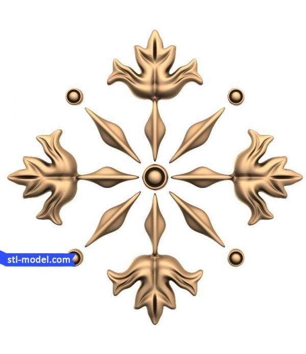 "Decor ""decor #176"" | STL - 3D model for CNC"