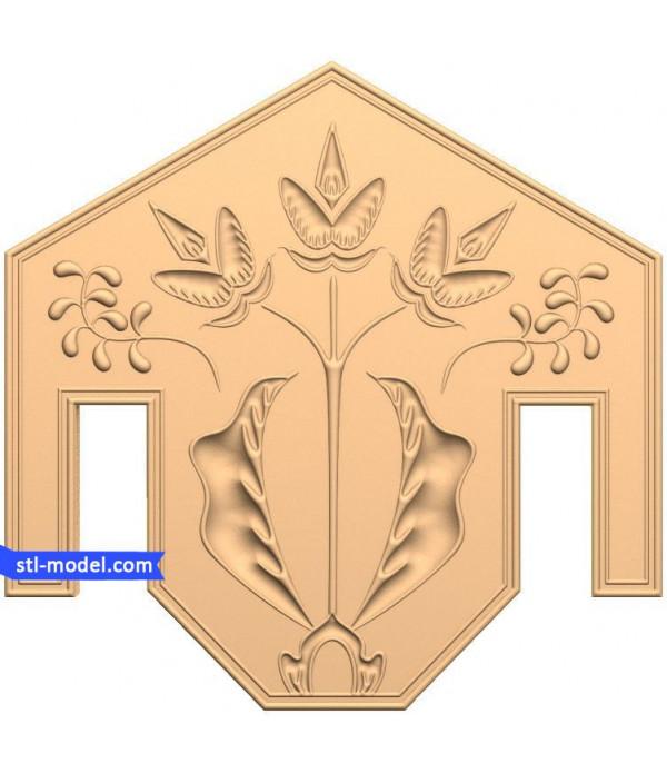 "Decor ""decor #92"" | STL - 3D model for CNC"