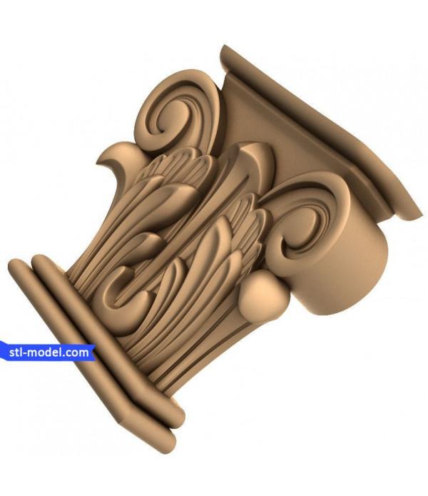 "Corbel ""Corbel #39"" | STL - 3D model for CNC"