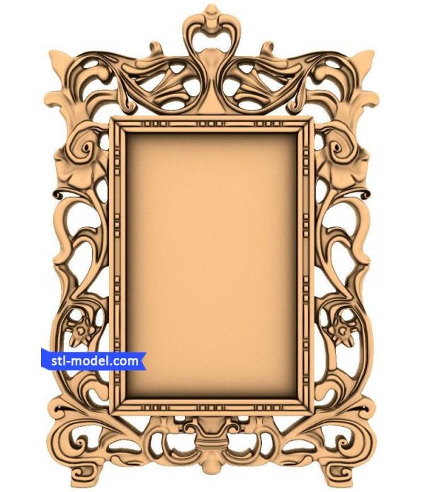 "Frame ""Frame #98"" | STL - 3D model for CNC"