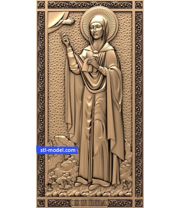 "Icon ""Holy Natalia #3"" 