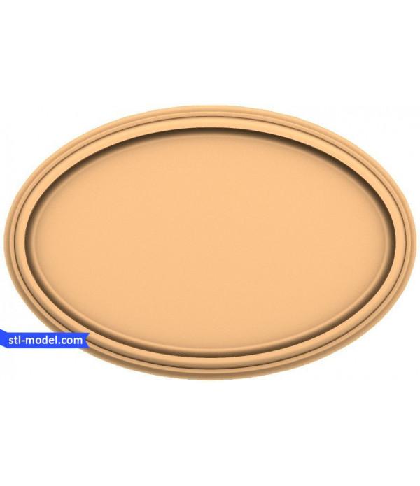 "Frame ""Frame #133"" | STL - 3D model for CNC"