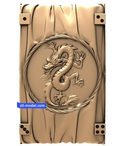 "Backgammon ""Dragon #2"" 
