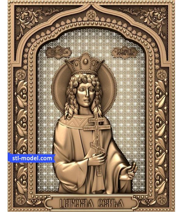 "Icon ""Princess Maria"" | STL - 3D model for CNC"