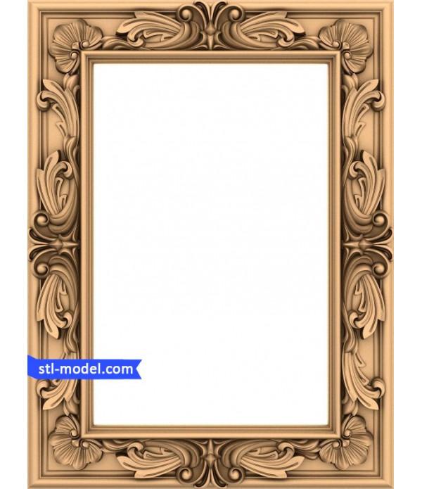 "Frame ""Frame #157""   STL - 3D model for CNC"
