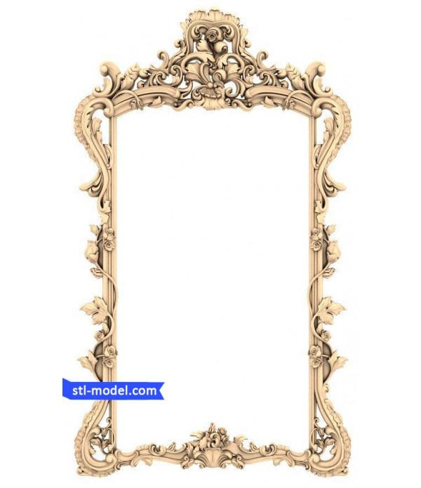 "Frame ""Frame #541"" | STL - 3D model for CNC"