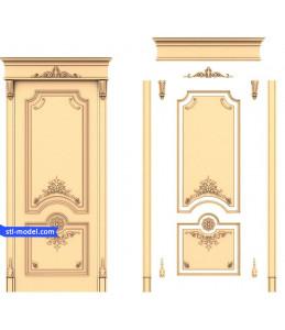 """Door """"Doors #20""""   STL - 3D mo..."""